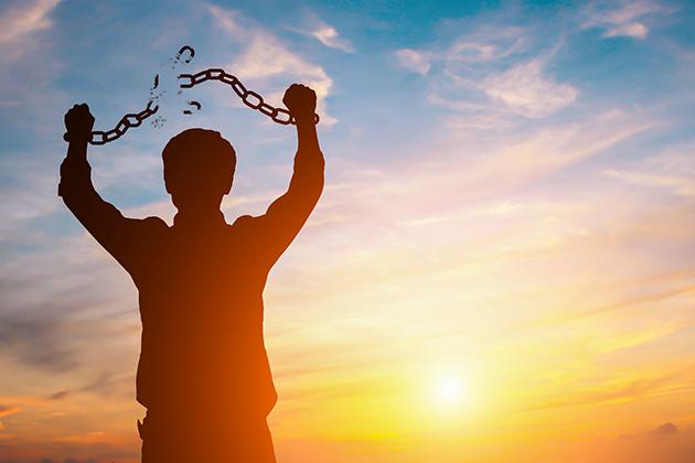 Sermon: Breaking Chains - Rev. Peter M Preble   Rev. Peter M Preble